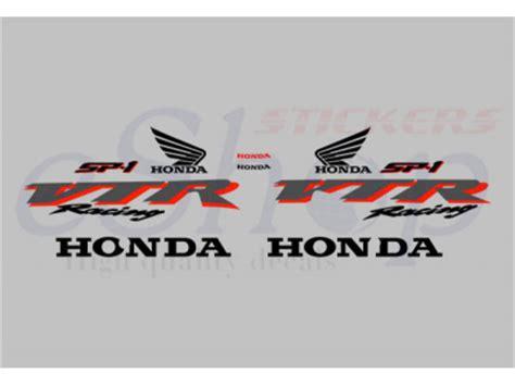 Honda Vtr Aufkleber by Vtr 1000 Sp1 Silver Set Eshop Stickers