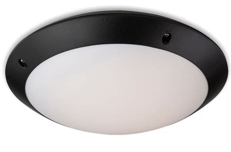 Motion Activated Outdoor Ceiling Light Firstlight Nevada Ip66 Led Motion Activated Outdoor Flush Fitting Ceiling Light Black