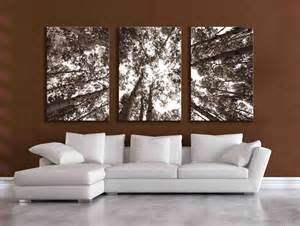 Large Wall Art by Three Large Multi Panel Wall Art Aspen 20x24 Inch Or 24x36