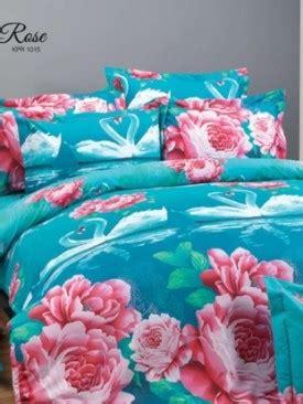 Sprei Kendra Premiere Motif Strawberry distributor sprei bedcover selimut kendra asli pabrik