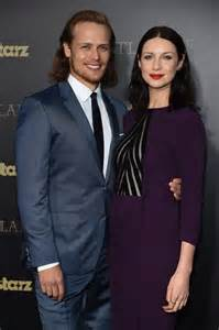 Sam heughan confirms he s not in a relationship with caitriona balfe