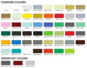 spray paint color chart spray paint by anchor brand