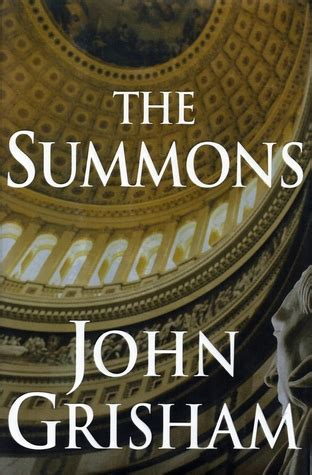 The Summons the summons by grisham