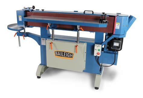 edge sanders woodworking oscillating edge sander es 9138 baileigh industrial