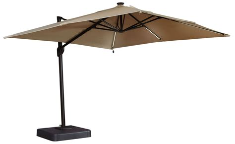 Oakengrove Linen Large Cantilever Outdoor Umbrella from
