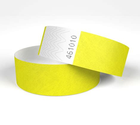 How To Make Paper Wristbands - tyvek wristbands plain stock paper wristbands uk