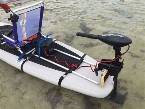 mount motors install electric motor on any sup paddle board