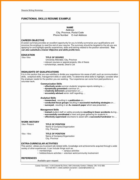 computer skills cv sles 14 beautiful computer skills resume sle resume sle ideas resume sle ideas
