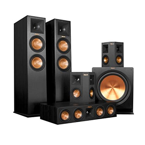 review klipsch rp 280fa home theater system bundle