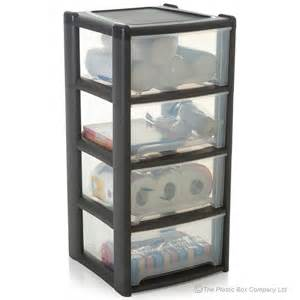 buy large plastic 4 drawer tower unit discount pallet deal