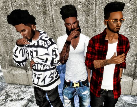 sims 4 blog ts3 nappy fros hair conversions for males by ebonixsimblr my sims 4 blog ts3 nappy fros hair conversions for males