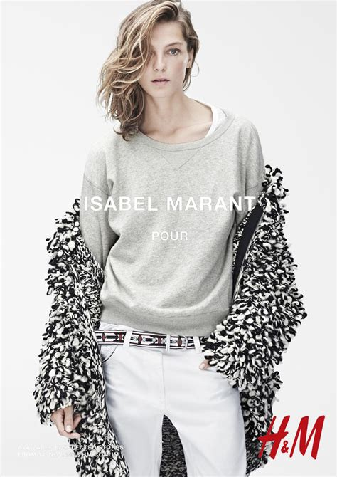 Werbowy Models For Hm by Marant For H M Fall 2013 H M
