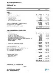 trust financial statements template sle financial statements from jazzit fundamentals