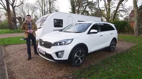 Kia Sportage Towing by Kia Sorento Towing Review With The Cing And Caravanning