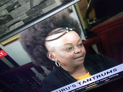 hairstyles for missing hairline millie odhiambo s new hairstyle leaves kenyans trolling