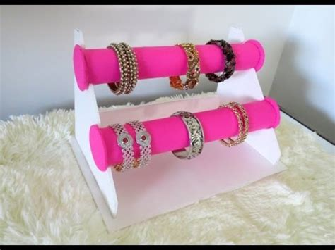 DIY Bracelet Holder   Bangle Stand   YouTube