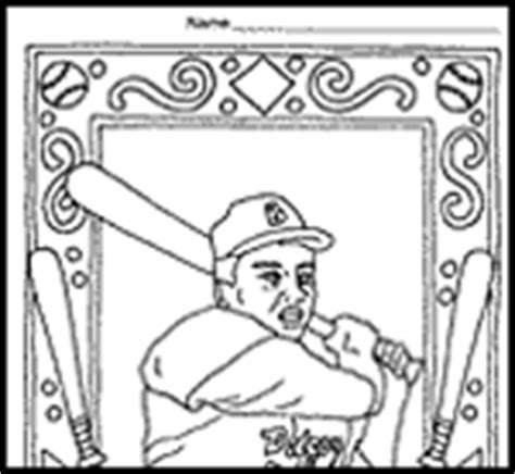 coloring page for jackie robinson jackie robinson coloring pages for kids timeless miracle com
