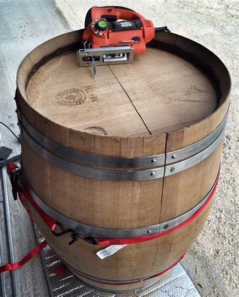 How To Make A Wine Barrel Coffee Table Diy Wine Barrel Coffee Table Luxe Adventure Traveler