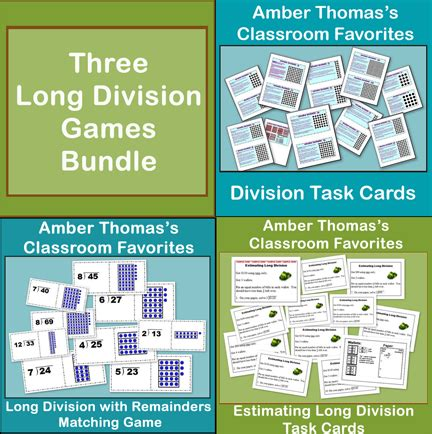 printable long division games for 5th grade long division 5th grade games 5th grade math worksheets