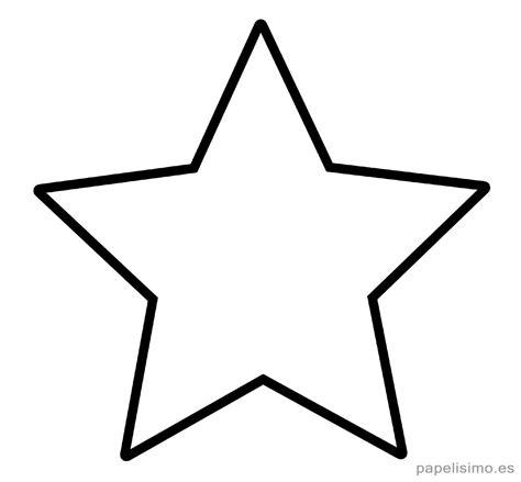 plantillas de estrellas de navidad para imprimir plantilla estrella 5 puntas clasica imprimir pintar estencil moldes moldes de