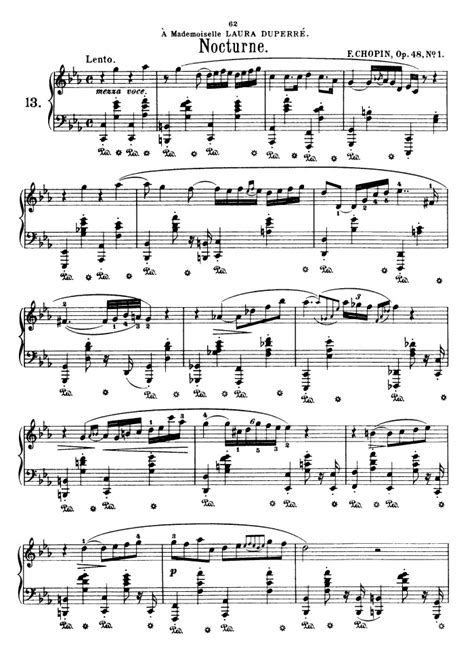 nocturne in c sharp minor b 49 sweet harmony all music chords nocturne in c sharp minor sheet music