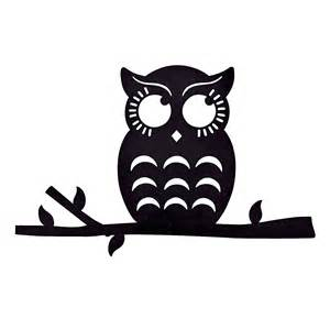 Owl silhouette wall decoration oriental trading discontinued
