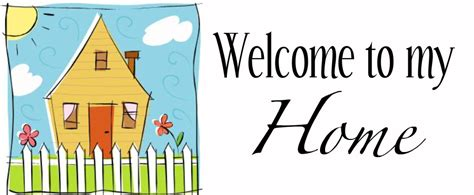 welcome home clipart the cliparts