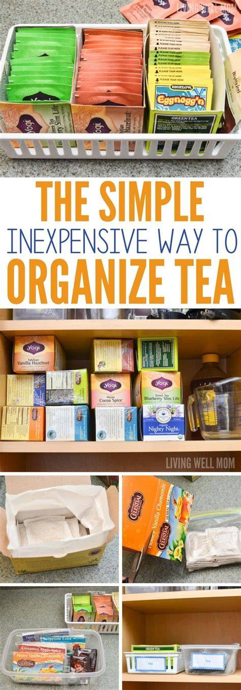 tea organization best 20 tea bag storage ideas on pinterest tea