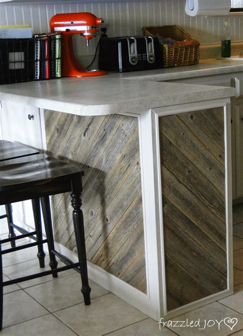 kitchen island reclaimed wood remodelaholic diagonal planked reclaimed wood kitchen island
