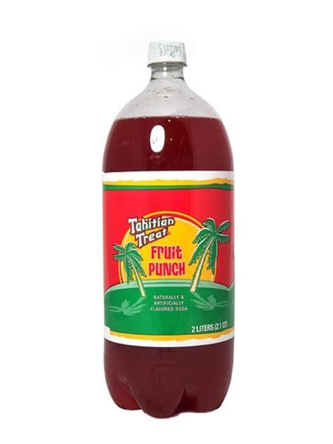 fruit punch soda fresh 2l tahitian treat fruit punch soda soda emporium