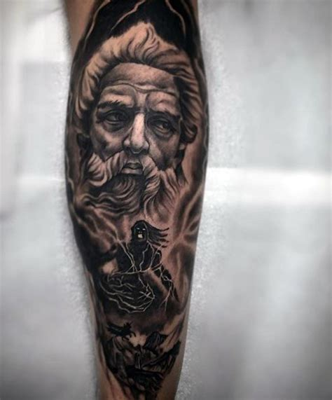 greek tattoos for men zeus tattoos designs ideas and meaning tattoos for you