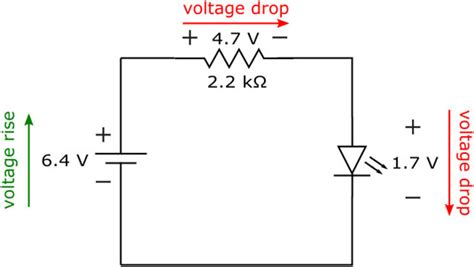 why voltage drop across resistor measure current voltage drop across resistor 28 images kirchhoff s voltage kvl divider