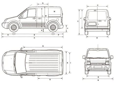 Ford Transit Interior Dimensions by Ford Transit Connect Dimensions Car Interior Design