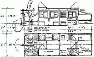 escargot boat plans escargot layout1 boats pinterest boat shanty boat
