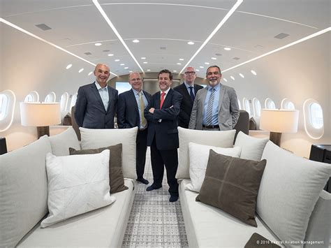 kestrel  manage   bbj  business jet interiors