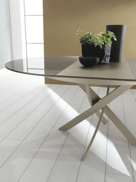 bontempi tavoli allungabili tavolo ovale in cristallo barone tavolo allungabile