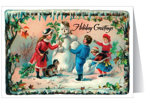 fashioned vintage santa claus card 36054 harrison