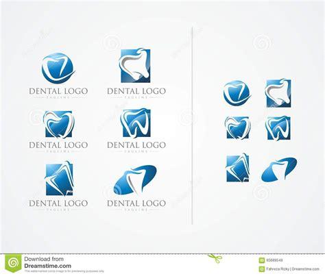 design a logo using office vector dental office logo design stock illustration