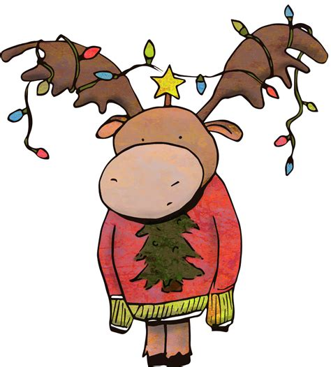 How To Decorate Home In Christmas christmas moose amanda vacharat