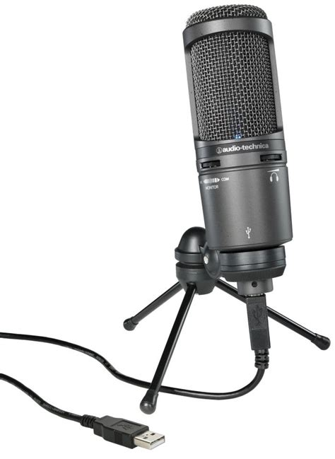Audio Technica At2020 Usb the best usb microphones for recording podcasting gearank