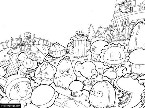 cherry bomb plants vs zombies coloring pages coloring pages