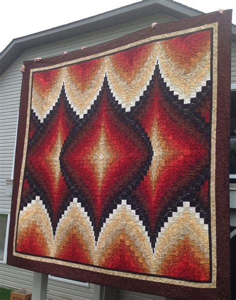 argyle bargello from more twists and turns king size