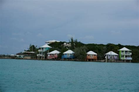 staniel cay yacht club cottages die cottages vom meer aus picture of staniel cay yacht