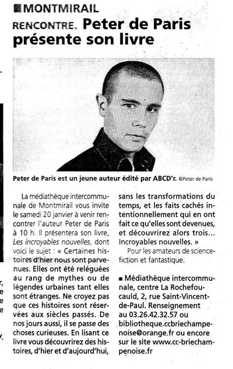 épisode pilote 1/3 – Peter de Paris