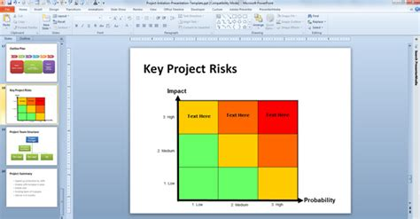 risk matrix template risk matrix powerpoint template risk matrix template aml