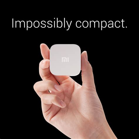 Xiaomi Mi Box Mini new xiaomi accessories the ultra compact mi box mini and the swanky mi headphones