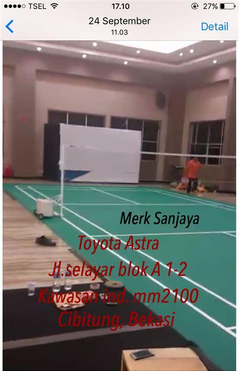 Karpet Flypower jual perlengkapan olahraga bulutangkis badminton