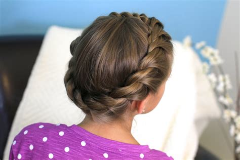 rope twist updo homecoming hairstyles cute girls crown rope twist braid updo hairstyles cute girls