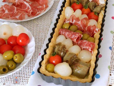 cucina italiana antipasti torta antipasto italiano di kissthecook