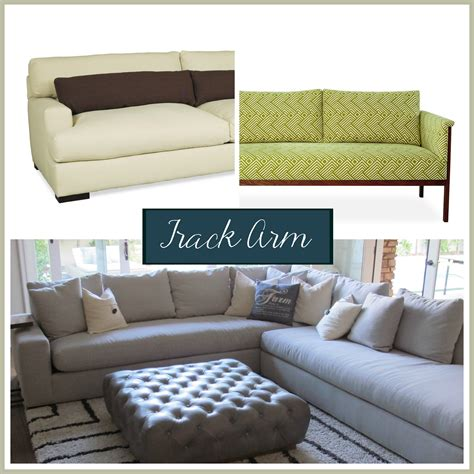 couch styles sofa arm styles picking the perfect one the stated home